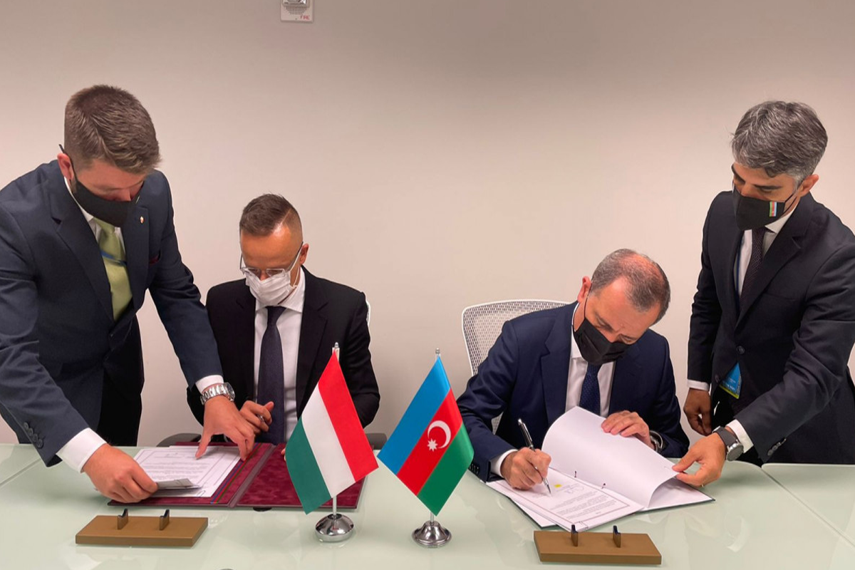 """Azerbaijan, Hungary sign """"Agreement on cooperation in field of archive work"""""""