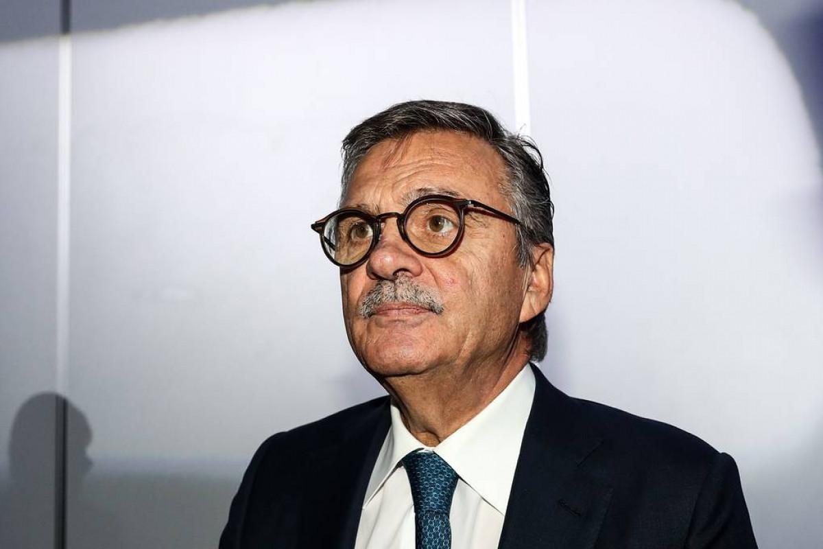 President of the International Ice Hockey Federation (IIHF) Rene Fasel