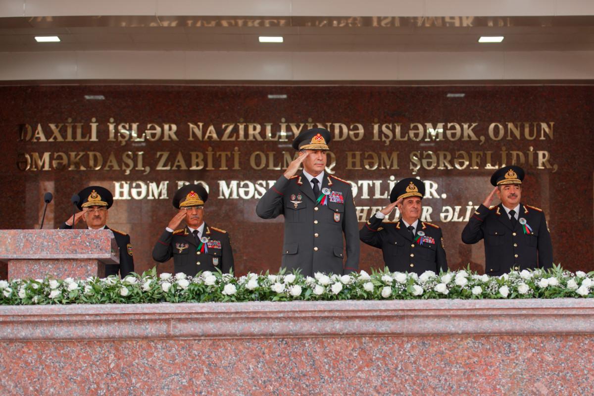 Polis Akademiyasının yaranmasının 100 illiyi qeyd olunub
