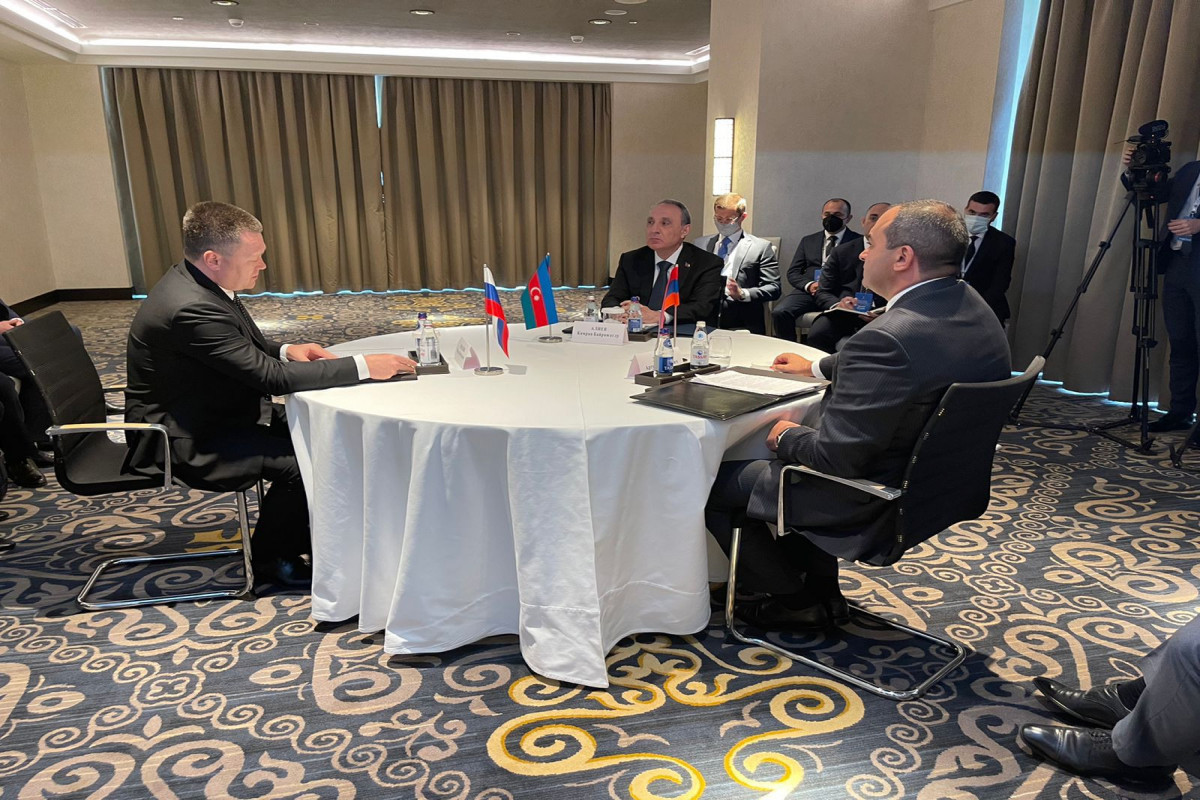 """Trilateral meeting among Prosecutors General of Azerbaijan,Russia and Armenia held-<span class=""""red_color"""">PHOTO"""