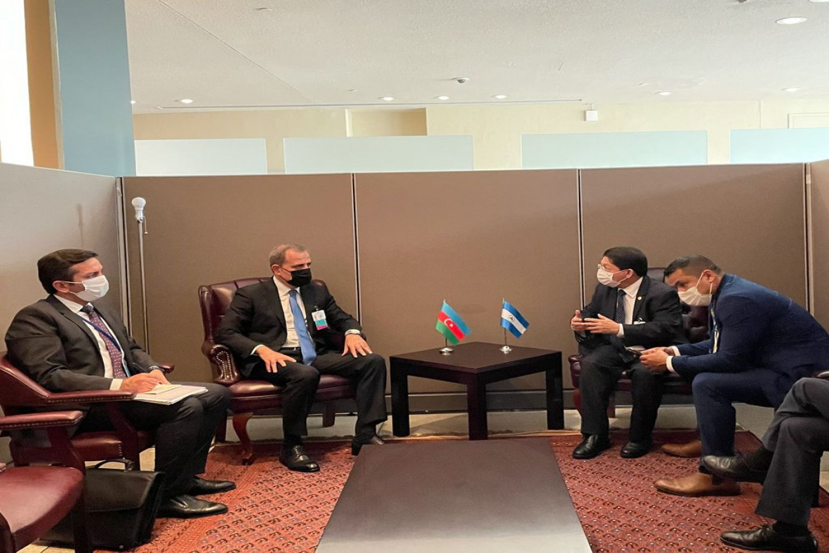 Azerbaijani FM met withForeign Ministers of Madagascar, Nicaragua and Cape Verde-PHOTO