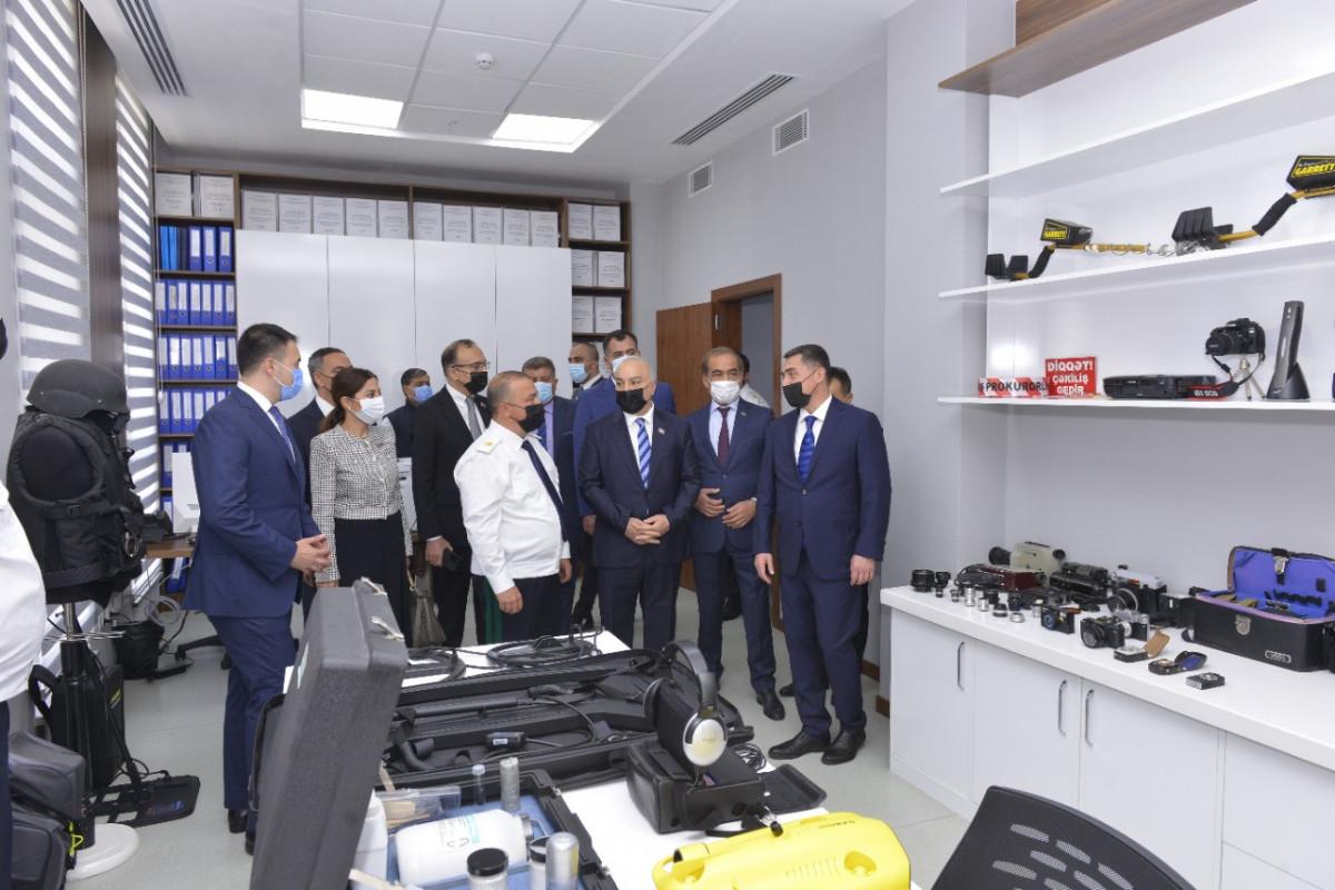 Milli Məclis üzvləri Baş Prokurorluğunun yeni inzibati bina kompleksində