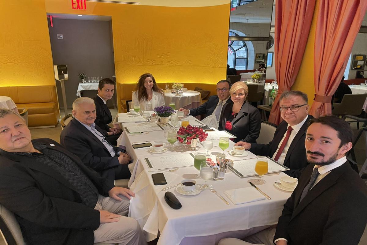 Members ofNizami Ganjavi International Center met with Erdogan-PHOTO