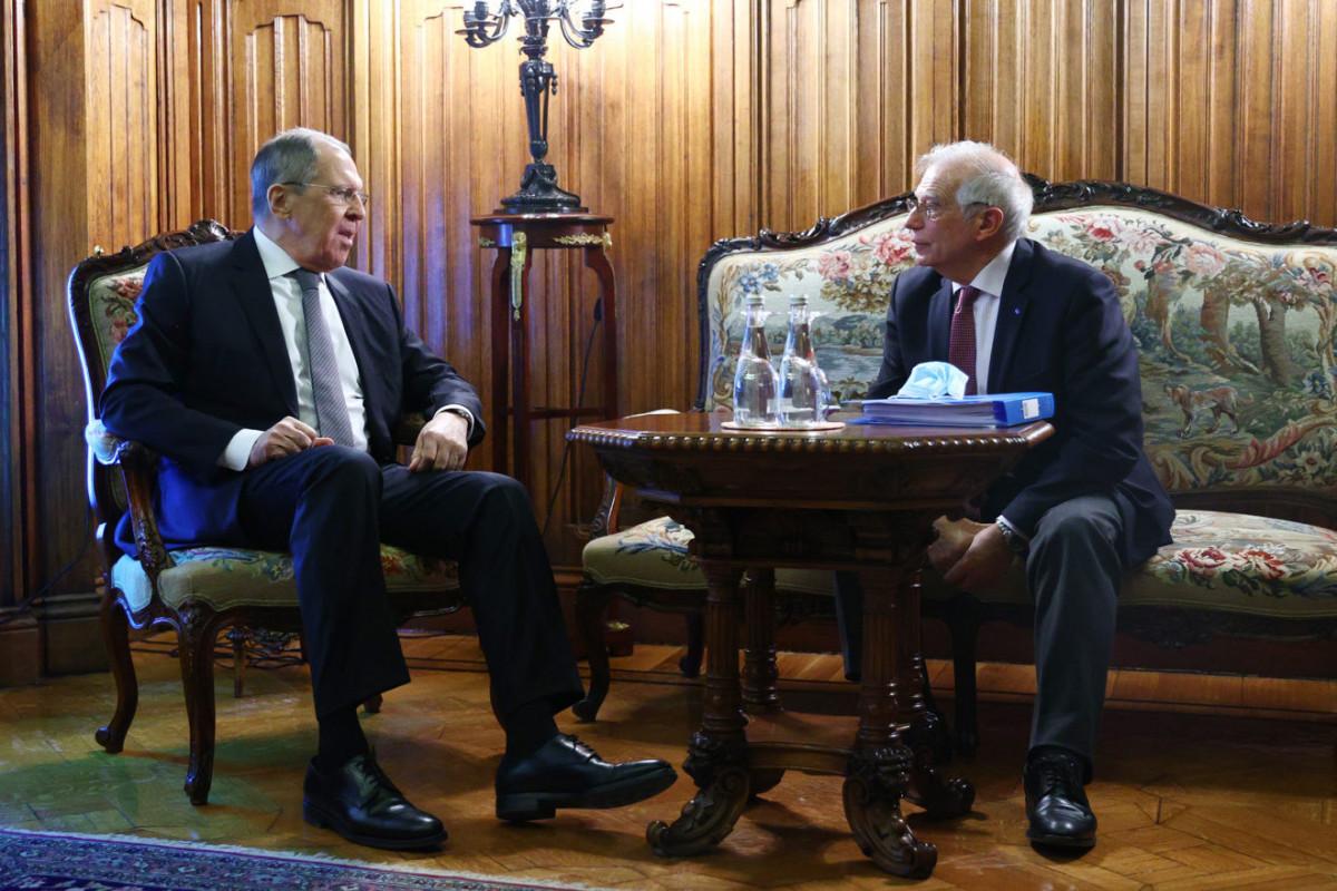 Lavrov, Borrell discuss Afghanistan, Ukraine, Iran nuclear deal