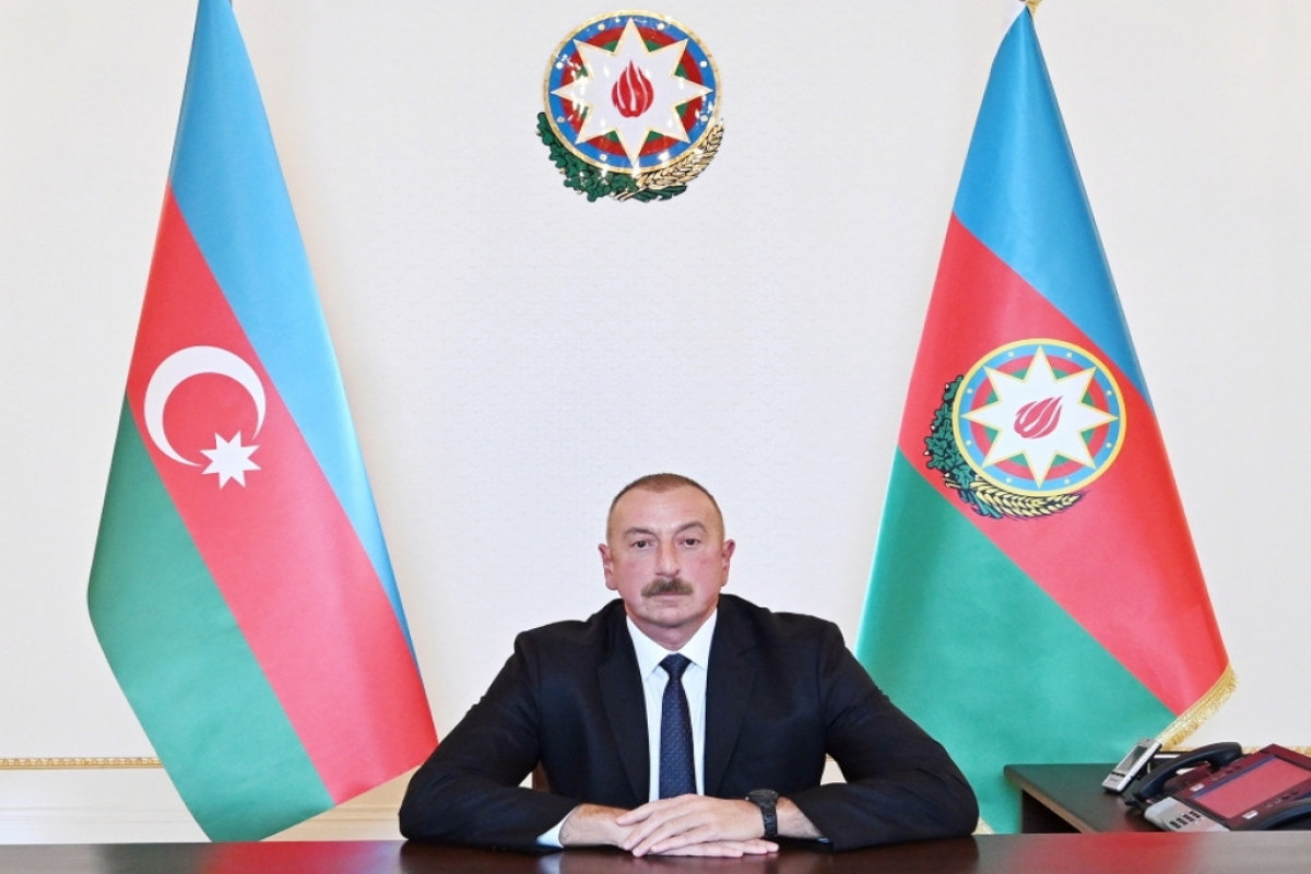 Президент: В результате военных преступлений Армении были убиты более 100 мирных жителей, в том числе 11 детей, свыше 450 ранены