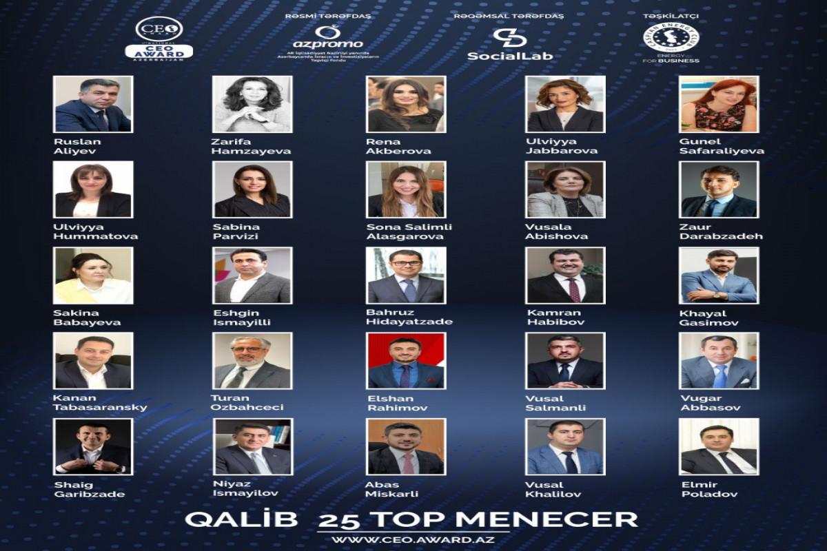 Объявлены победители первого национального конкурса «CEO Award Azerbaijan»