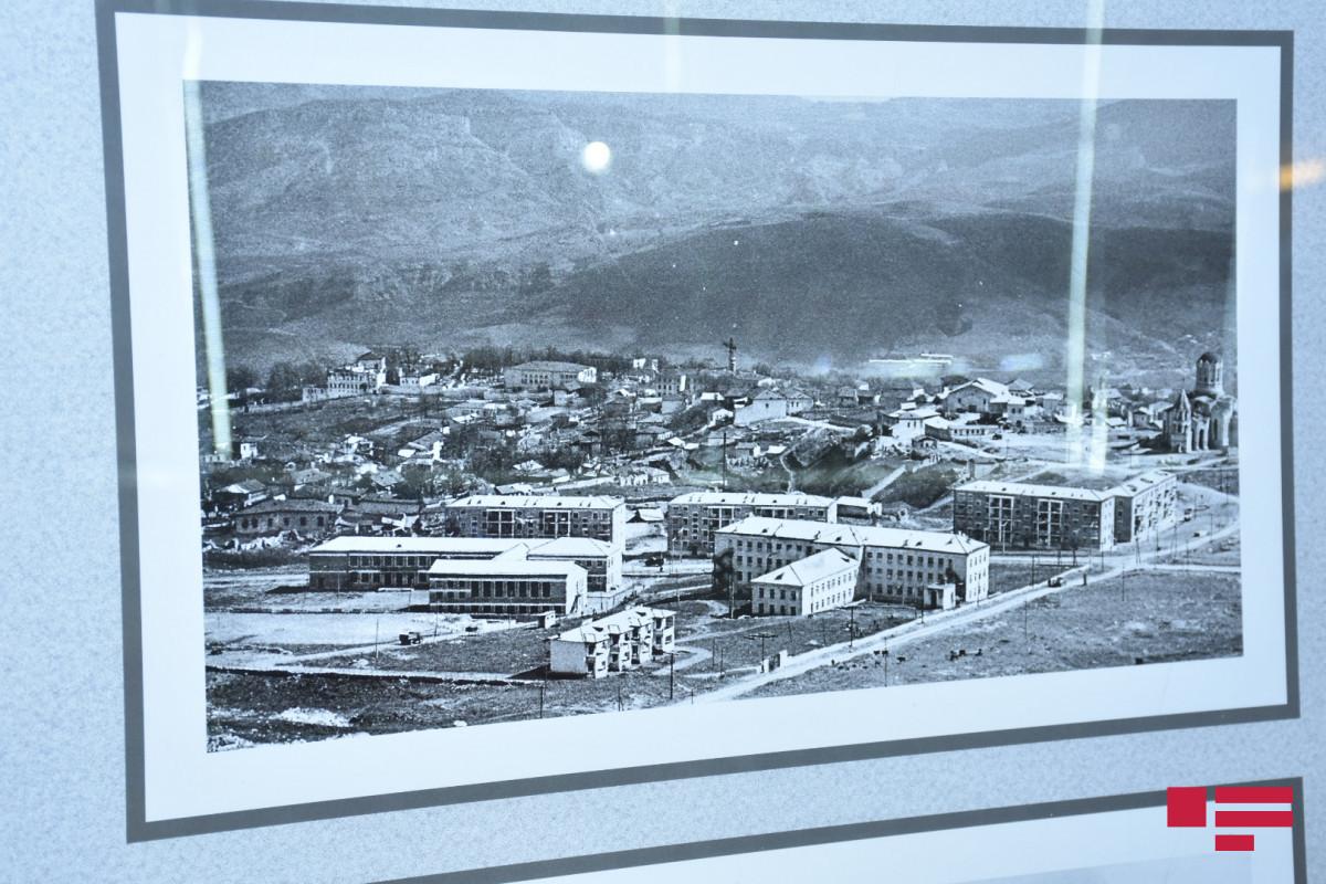 """""""Gənclik"""" metrostansiyasında """"Könlüm keçir Qarabağdan"""" adlı foto-sərgi açılıb - FOTO"""