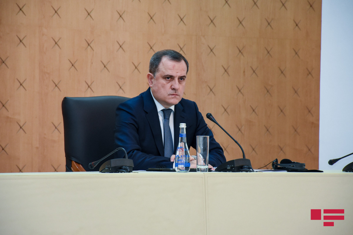 """Azebaijani FM: """" Zangazur Corridor will serve as a supplement to the existing trade and transport connectivity"""""""