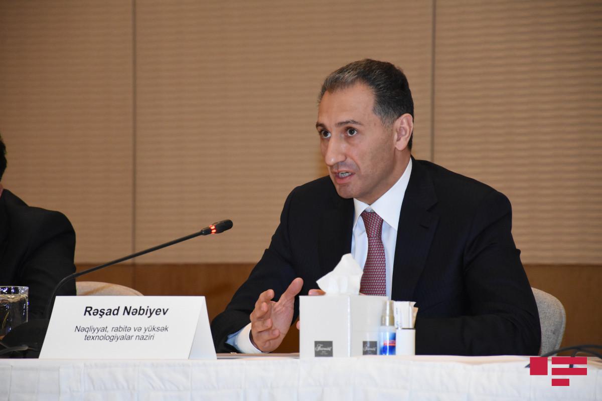 "Rashad Nabiyev: ""Whole territory of Azerbaijan will be provided with optic internet until 2024"""