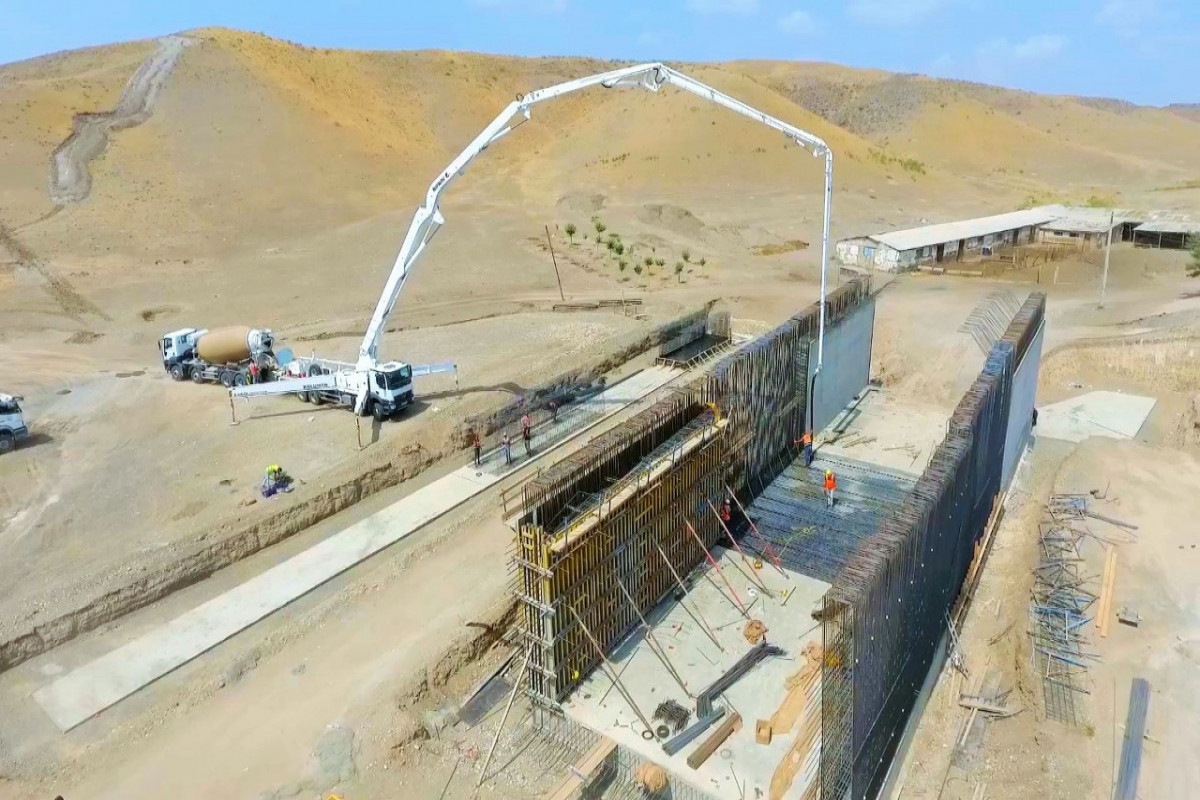 Construction of Horadiz-Jabrayil-Zangulan-Agbend highway being continued rapidly