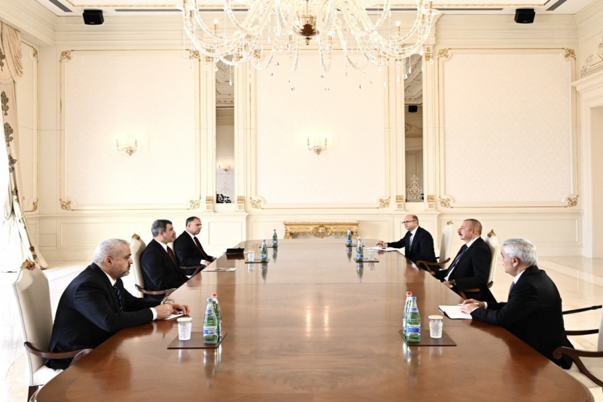 """President Ilham Aliyev received Iraqi oil minister-<span class=""""red_color"""">UPDATED"""