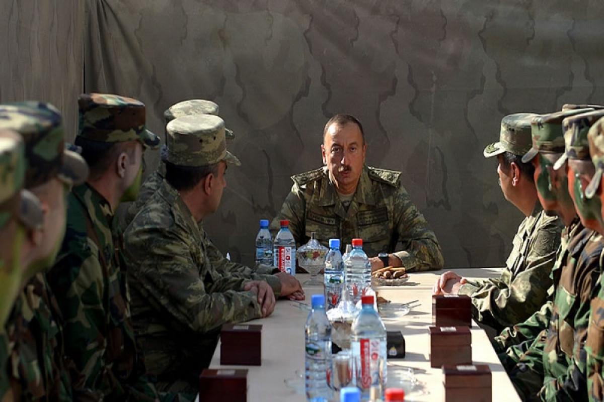 Президент Ильхам Алиев: Нам удалось в первый же день прорвать первую линию обороны противника, и после этого все 44 дня мы шли только вперед