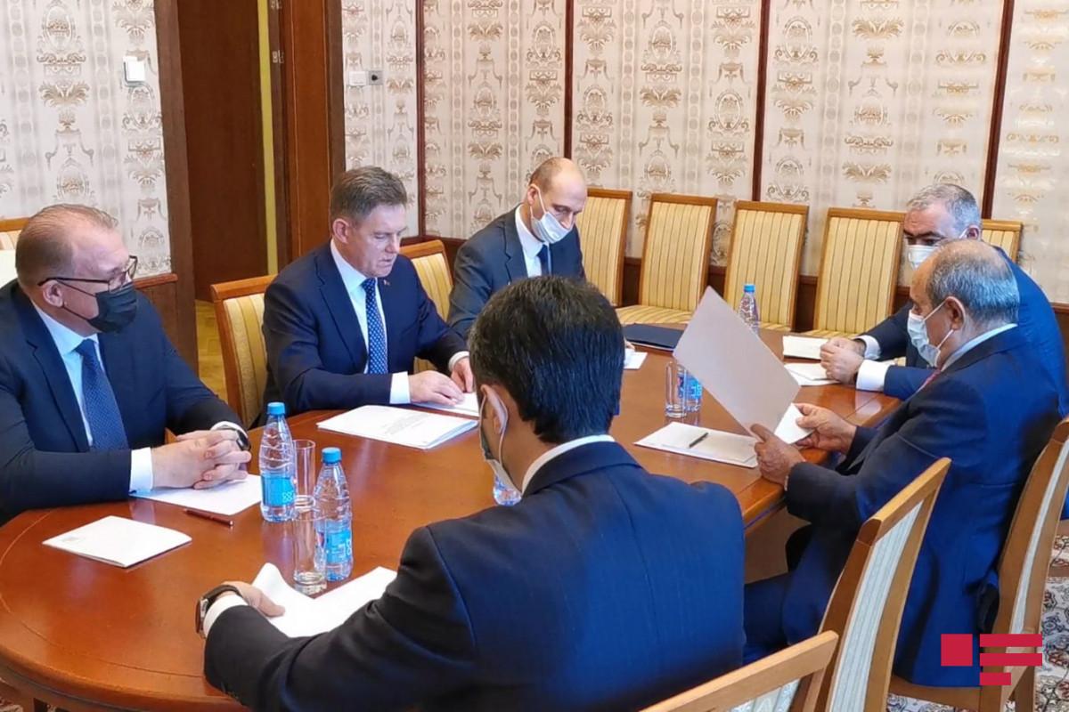 Azərbaycan və Belarus Baş nazirlərinin müavinləri Moskvada görüşüb - FOTO