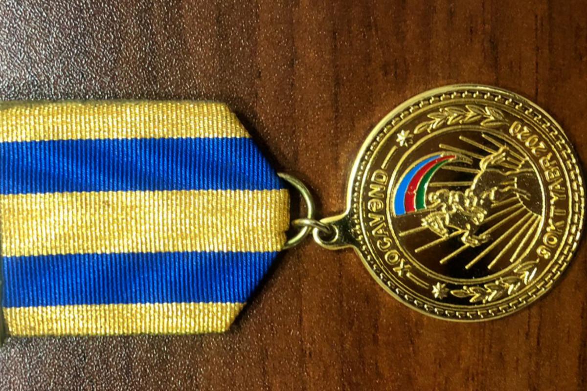 Vətən müharibəsi iştirakçısının pulunu və medalını oğurlayan şəxs saxlanılıb
