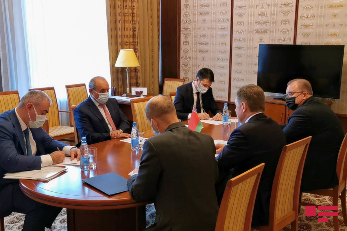 Azerbaijani and Belarusian Deputy Prime ministers met in Moscow-PHOTO