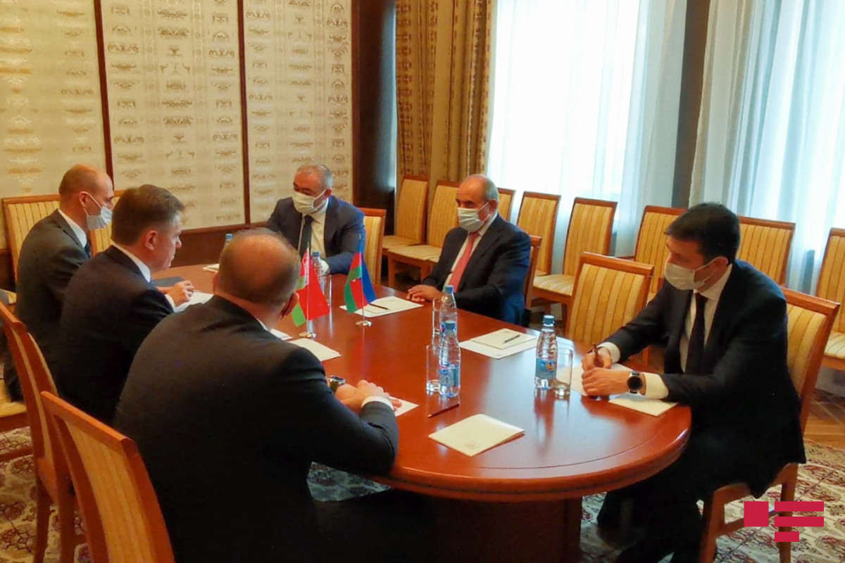 """Azerbaijani and Belarusian Deputy Prime ministers met in Moscow-<span class=""""red_color"""">PHOTO"""