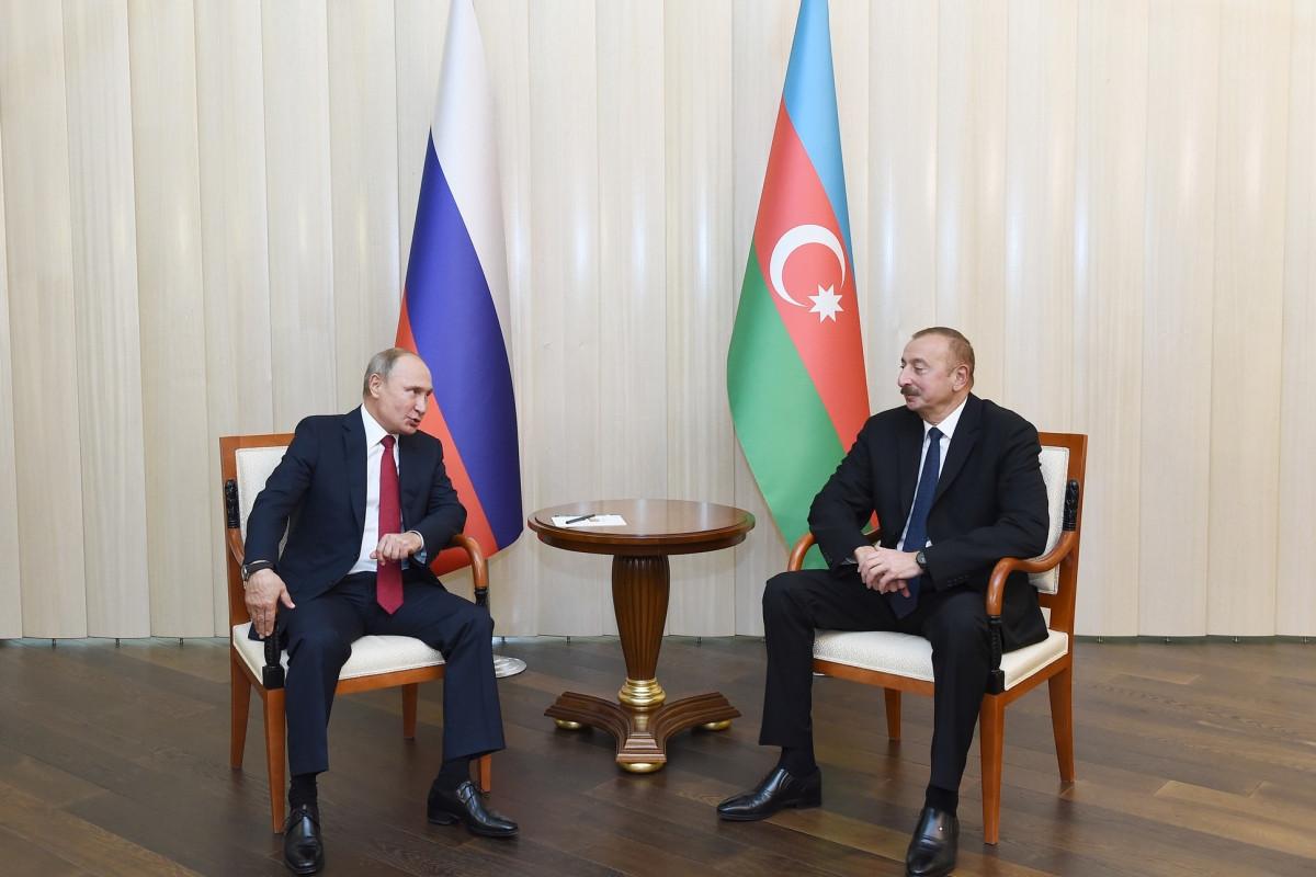 Президент: Отношение к России в Азербайджане всегда было позитивным и продолжает таковым оставаться