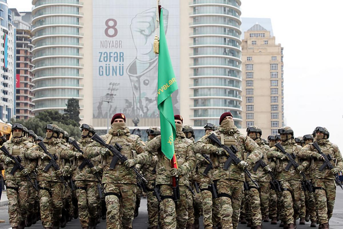 Victory Parade in Baku
