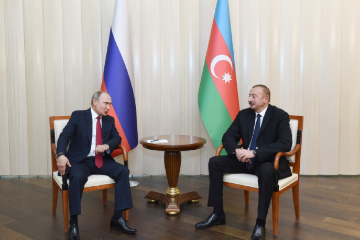 """President Ilham Aliyev: """"Attitude towards Russia in Azerbaijan has always been positive and continues to remain so"""""""
