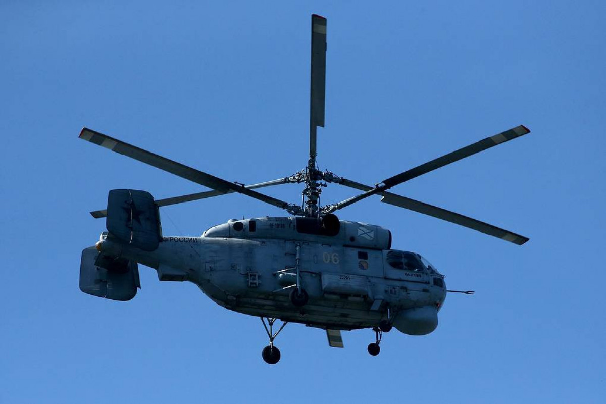 No survivors in Ka-27 helicopter crash in Russia's Kamchatka