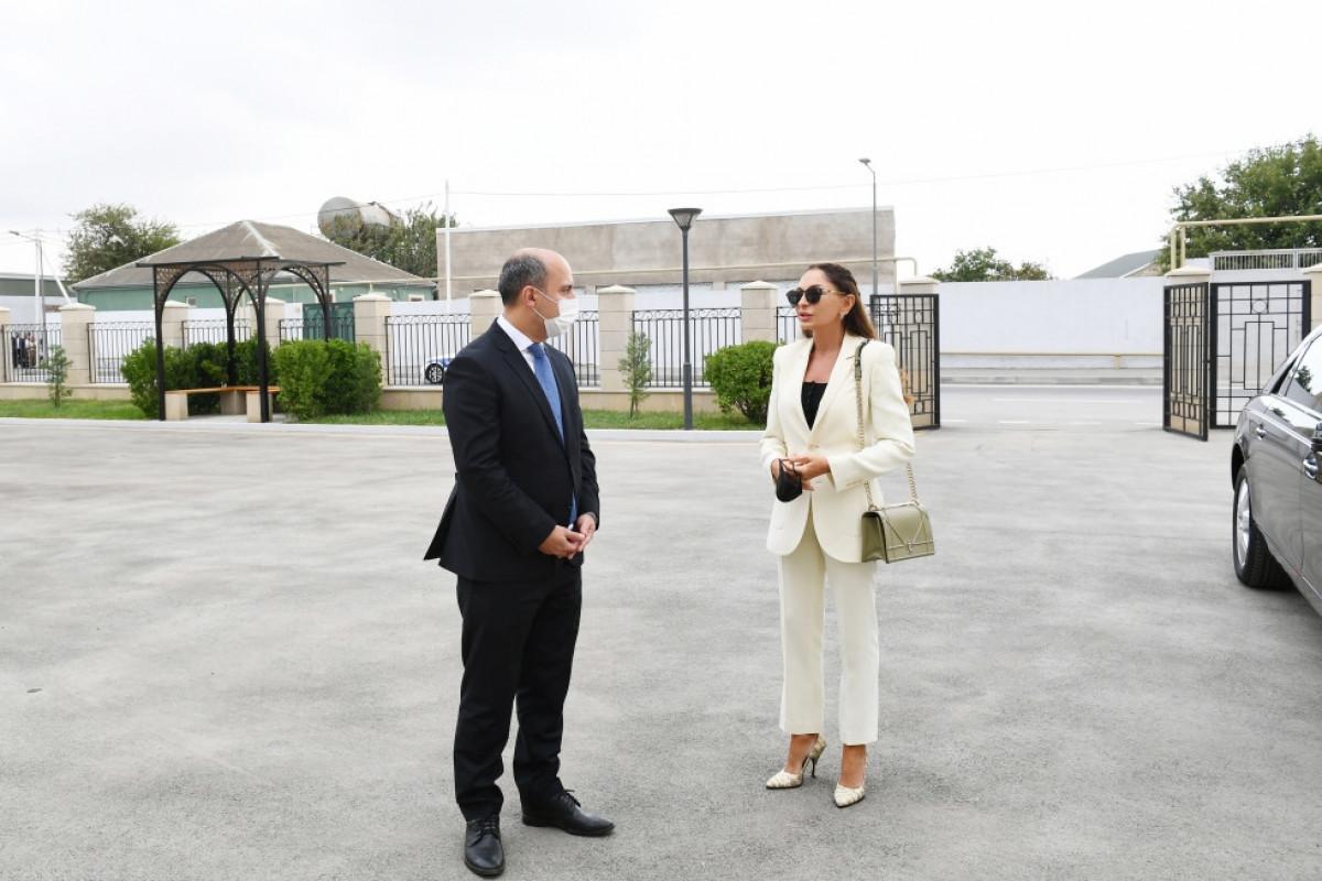 Мехрибан Алиева ознакомилась с условиями в построенной школе № 88