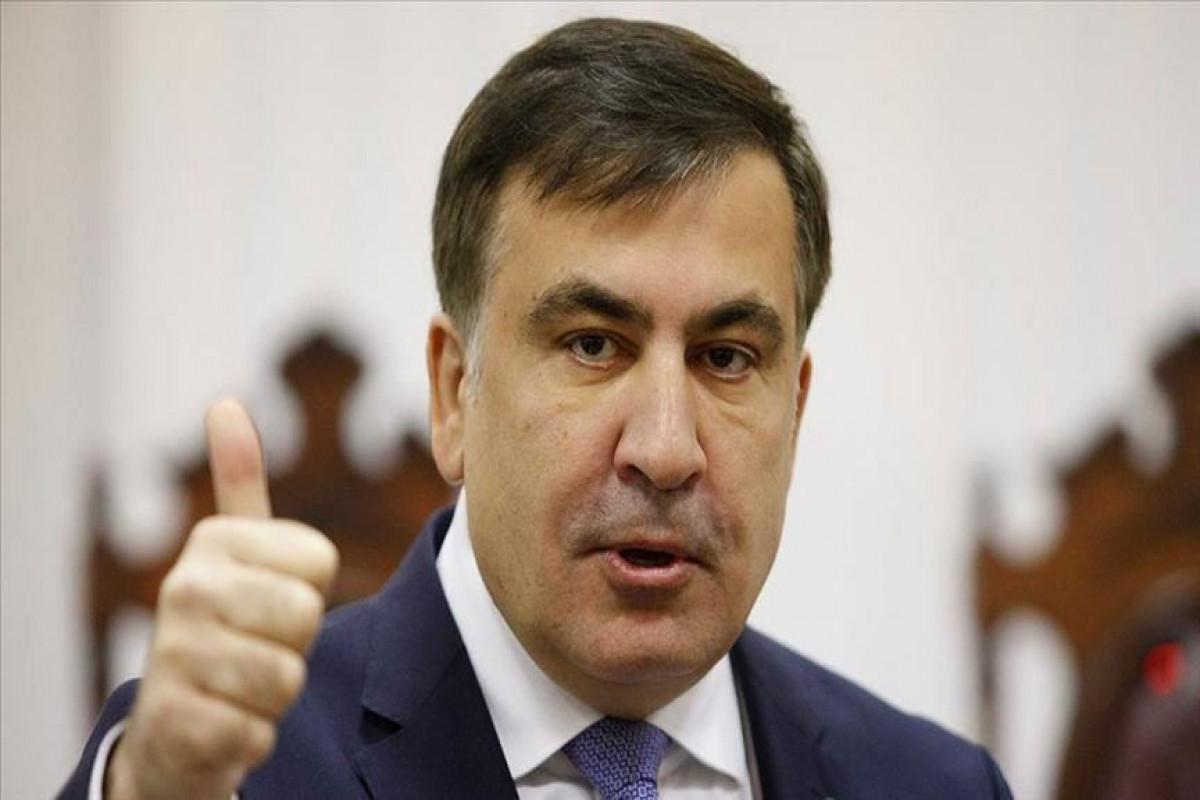 Saakaşvili seçkilərə qədər Gürcüstana qayıdacağını vəd edib