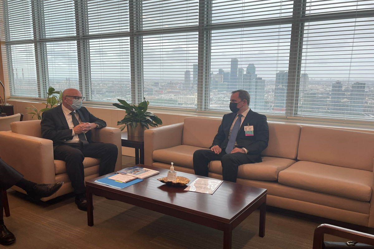 Azerbaijani FM informed UN Under-Secretary-General about Armenia