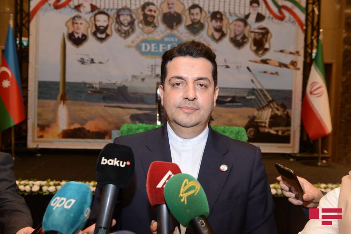 Посол внес ясность в проведение учений иранской армией на границе с Азербайджаном