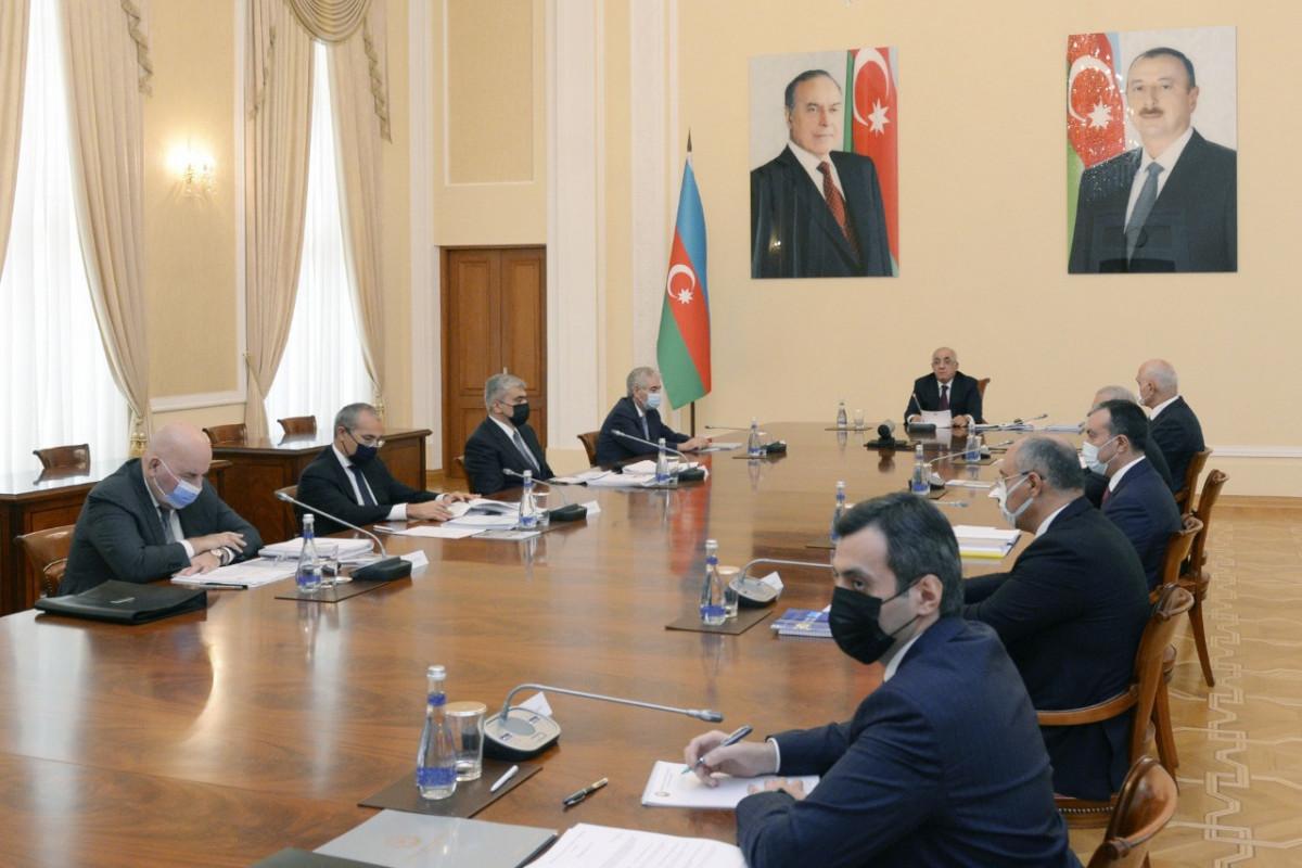 Состоялось расширенное заседание Кабинета министров