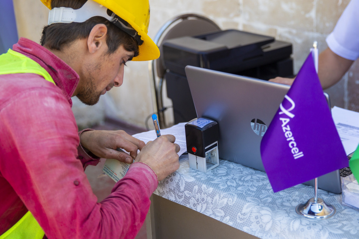 Azercell Mobile Customer Care visits Shusha!
