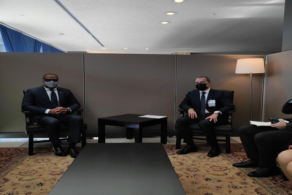 Джейхун Байрамов встретился с главами МИД ряда стран-членов Движения неприсоединения-ФОТО