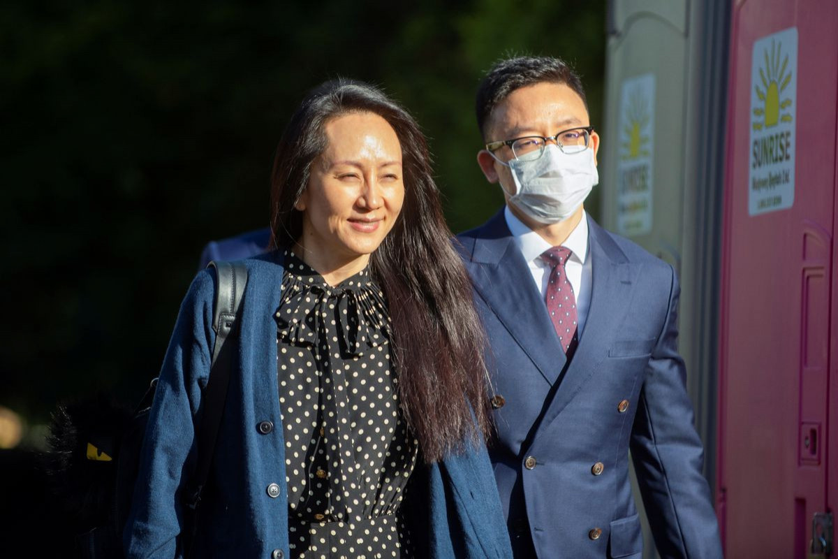 Huawei CFO leaves Canada after U.S. deal on fraud charges