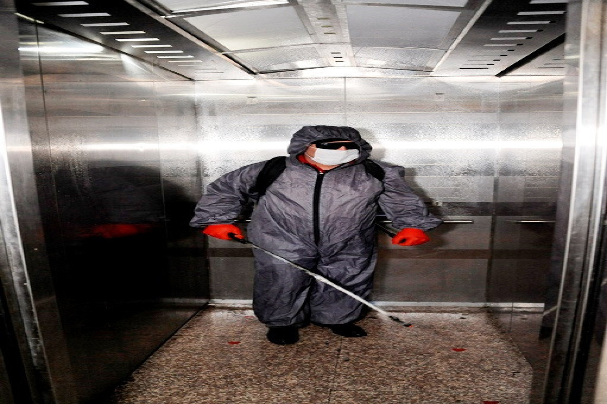 """В Баку проводятся очередные дезинфекционные работы-<span class=""""red_color"""">ФОТО"""