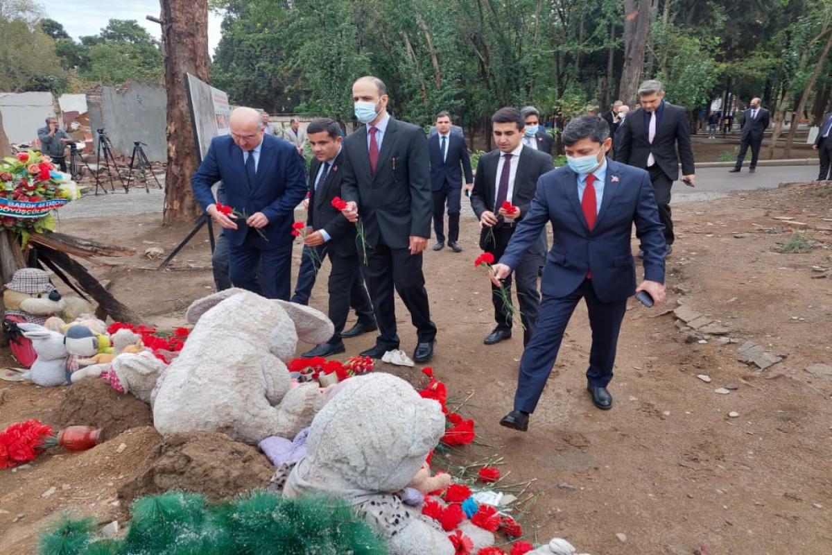 Visit of OIC delegation to Ganja starts-PHOTO