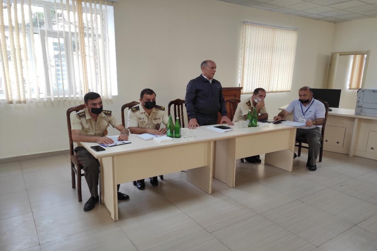 FHN-in Aran Regional Mərkəzi mülki müdafiə məşqi keçirib