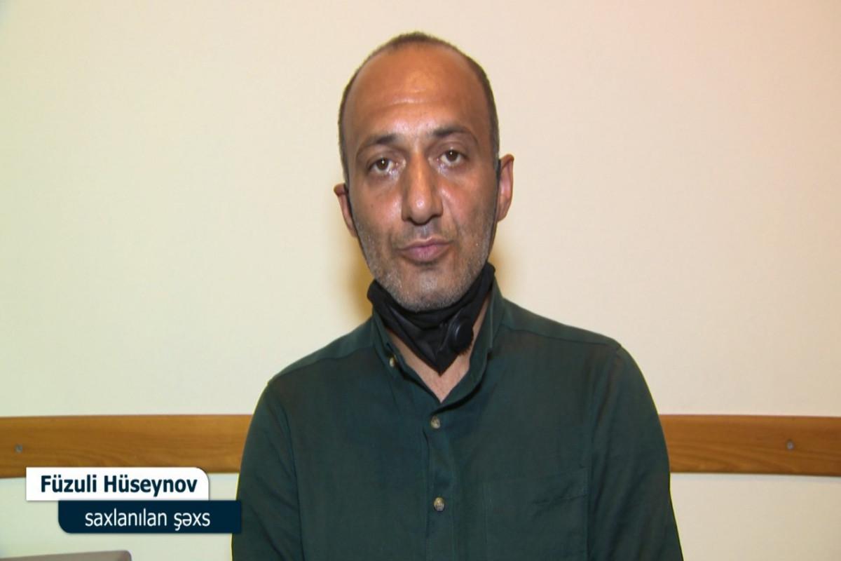 В Баку задержан мужчина, совершивший кражу из дома, который он ранее ремонтировал - ФОТО - ВИДЕО