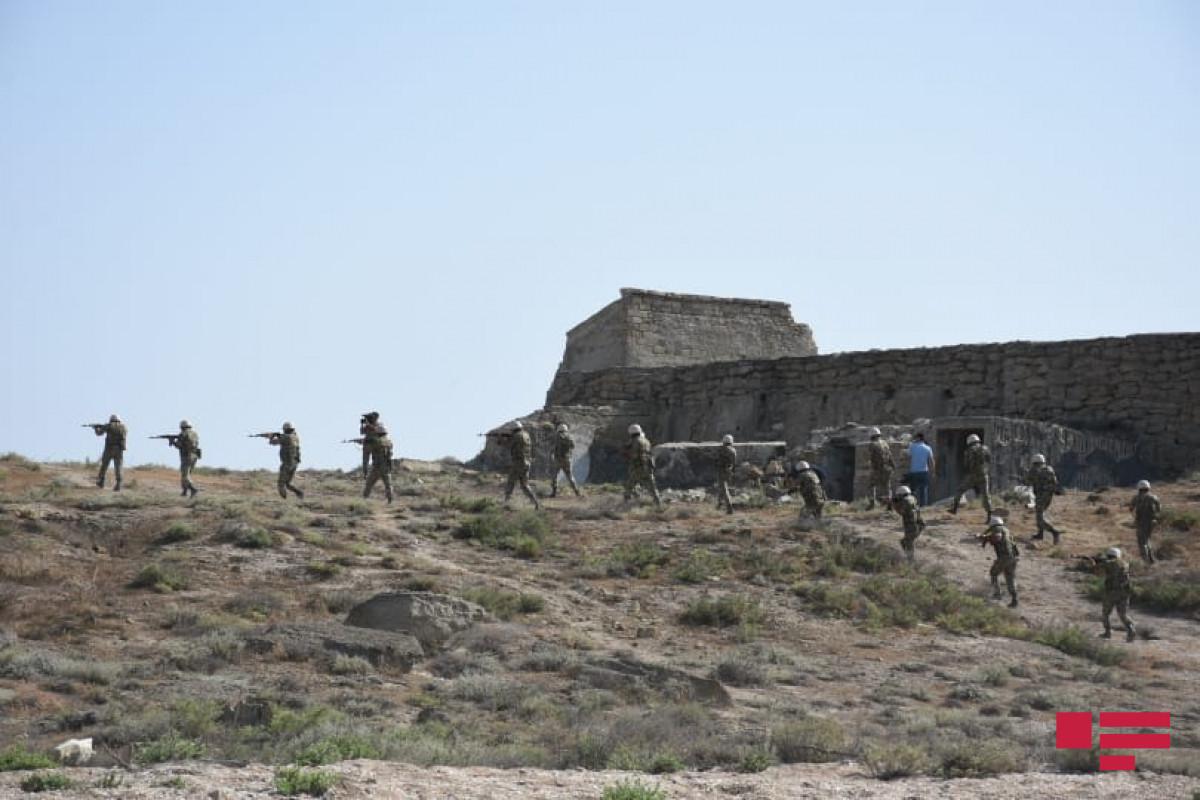 В Нахчыване продолжаются азербайджано-турецкие учения-ВИДЕО