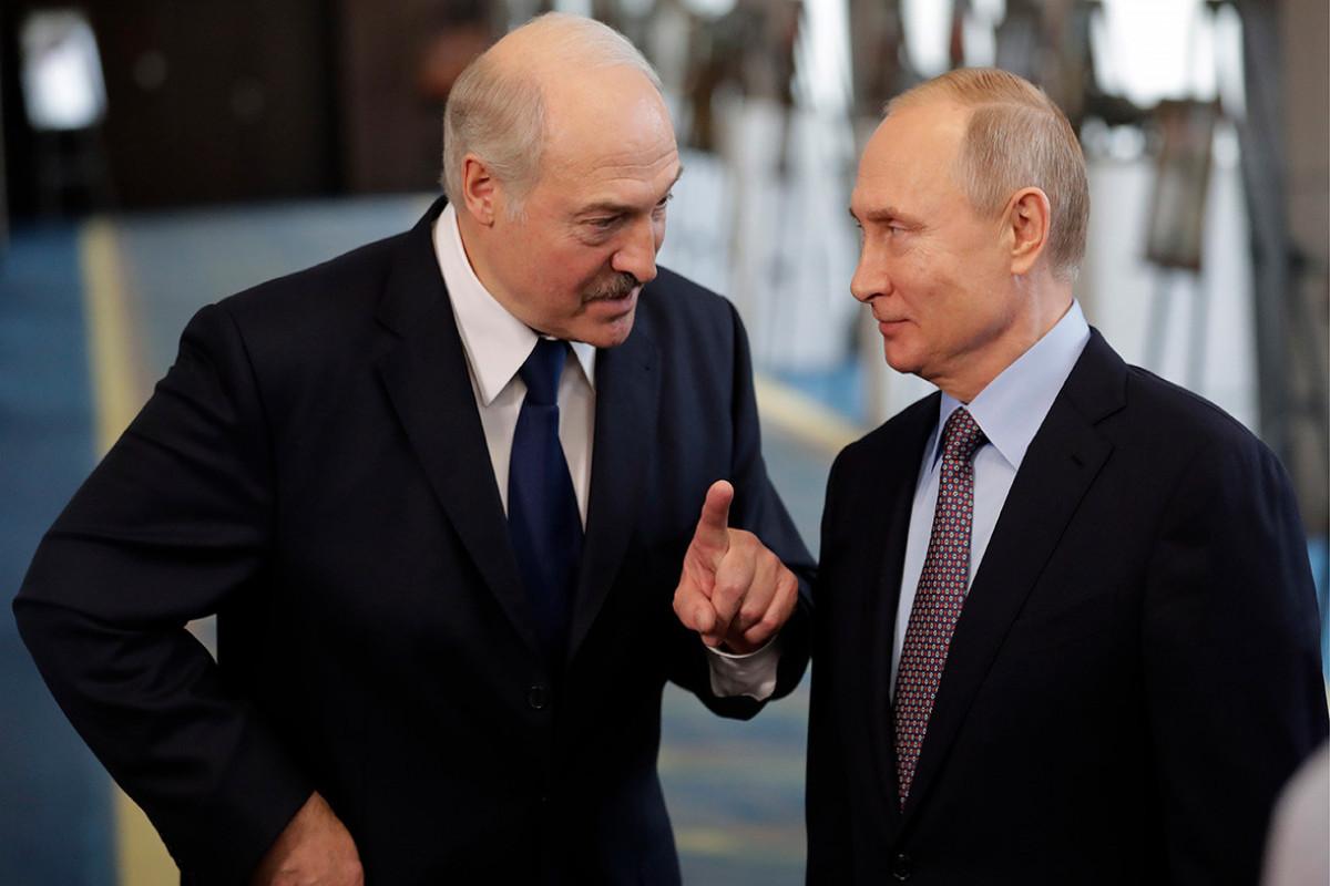 Putin Lukaşenko ilə görüşəcək