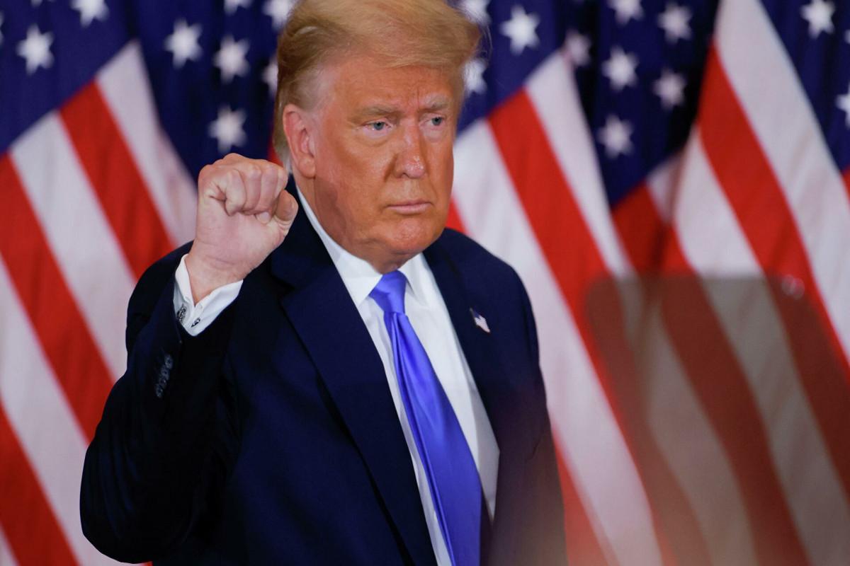 Трамп вновь заявил, что выиграл президентские выборы 2020 года