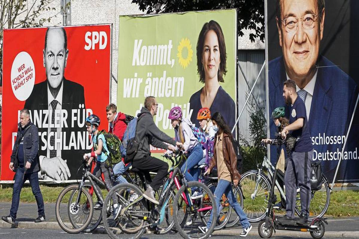 Almaniyada Bundestaqa seçkilər başlayıb