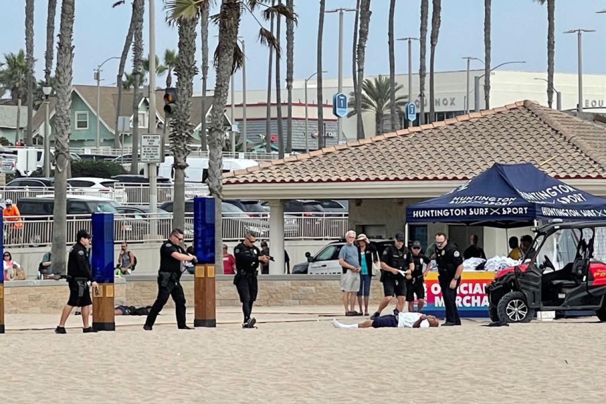 ABŞ-da polis sahildə idmançını güllələyib
