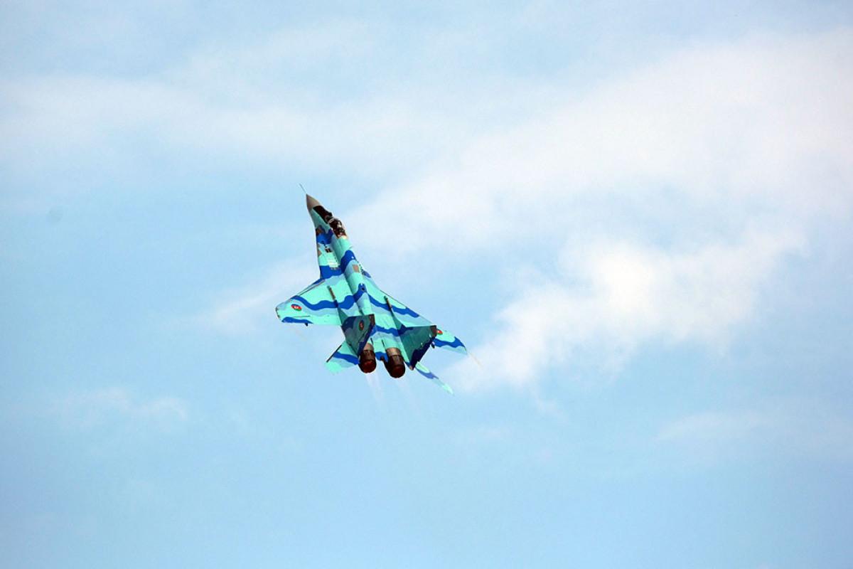 Azerbaijani military pilots performed their next flight at the Teknofest-2021
