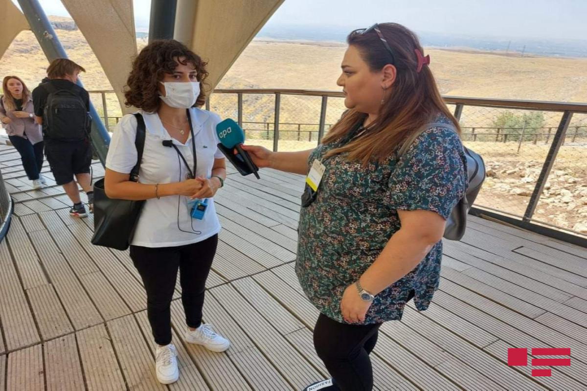 В Гобеклитепе и Карахантепе организован медиа-тур для журналистов из 27 стран - ФОТО
