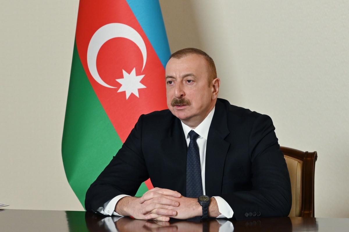 Президент Ильхам Алиев поделился публикацией в связи с Днем памяти