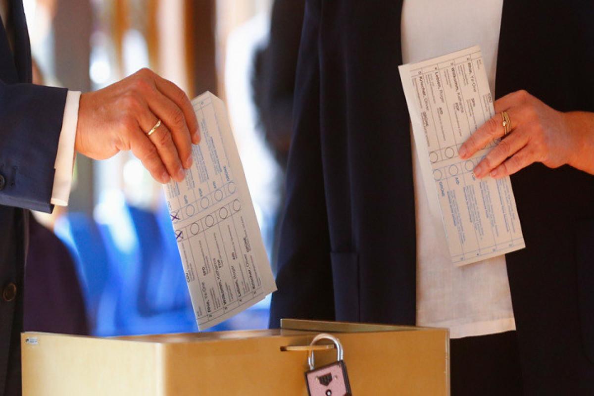 ЦИК Германии опубликовал первые результаты выборов в бундестаг