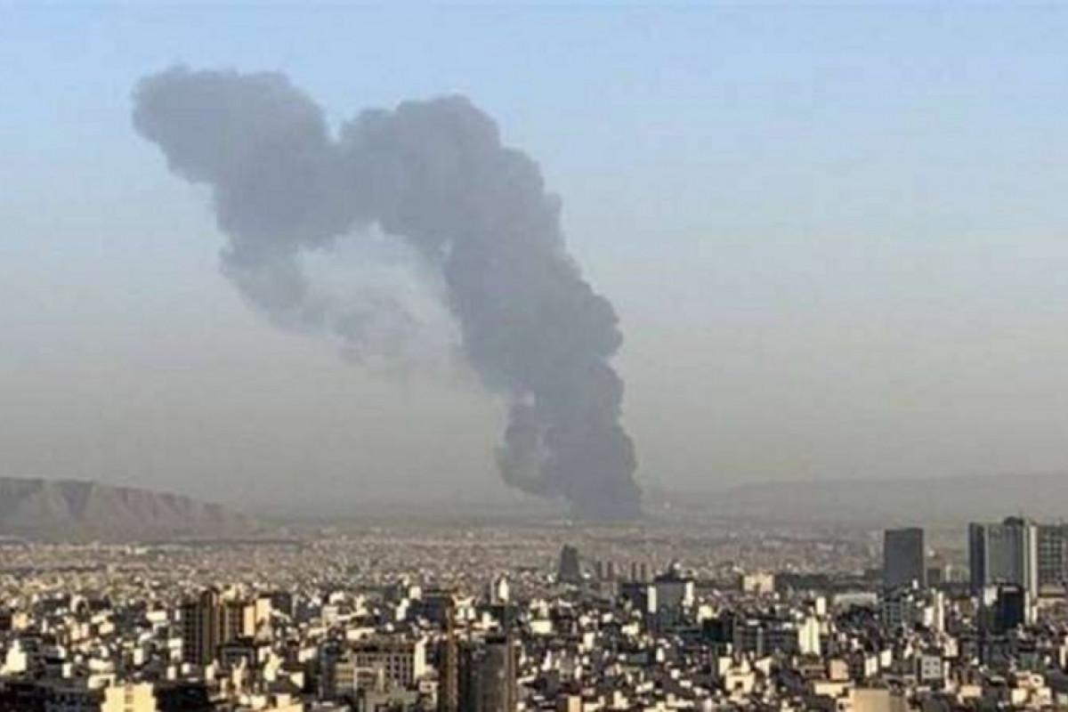 В исследовательском центре КСИР в Тегеране произошел пожар