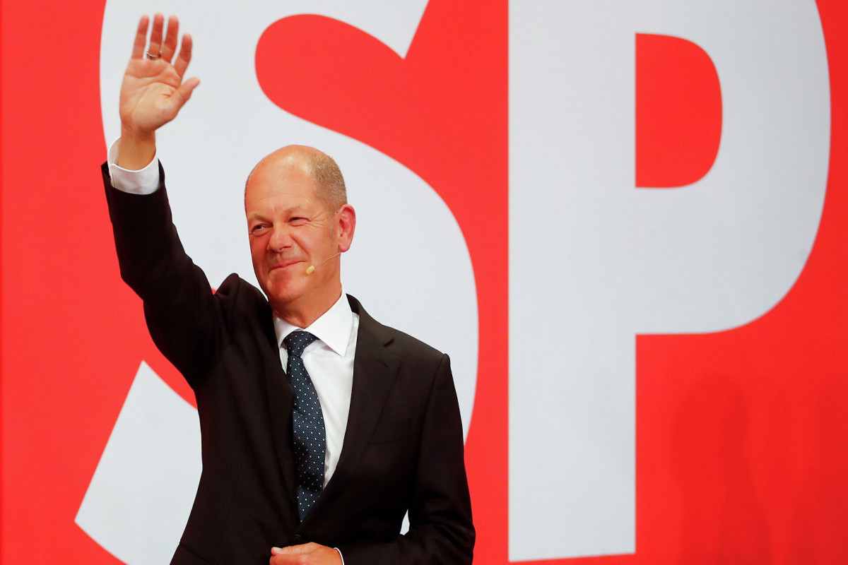 """Социал-демократы выиграли выборы в бундестаг-<span class=""""red_color"""">ОБНОВЛЕНО"""