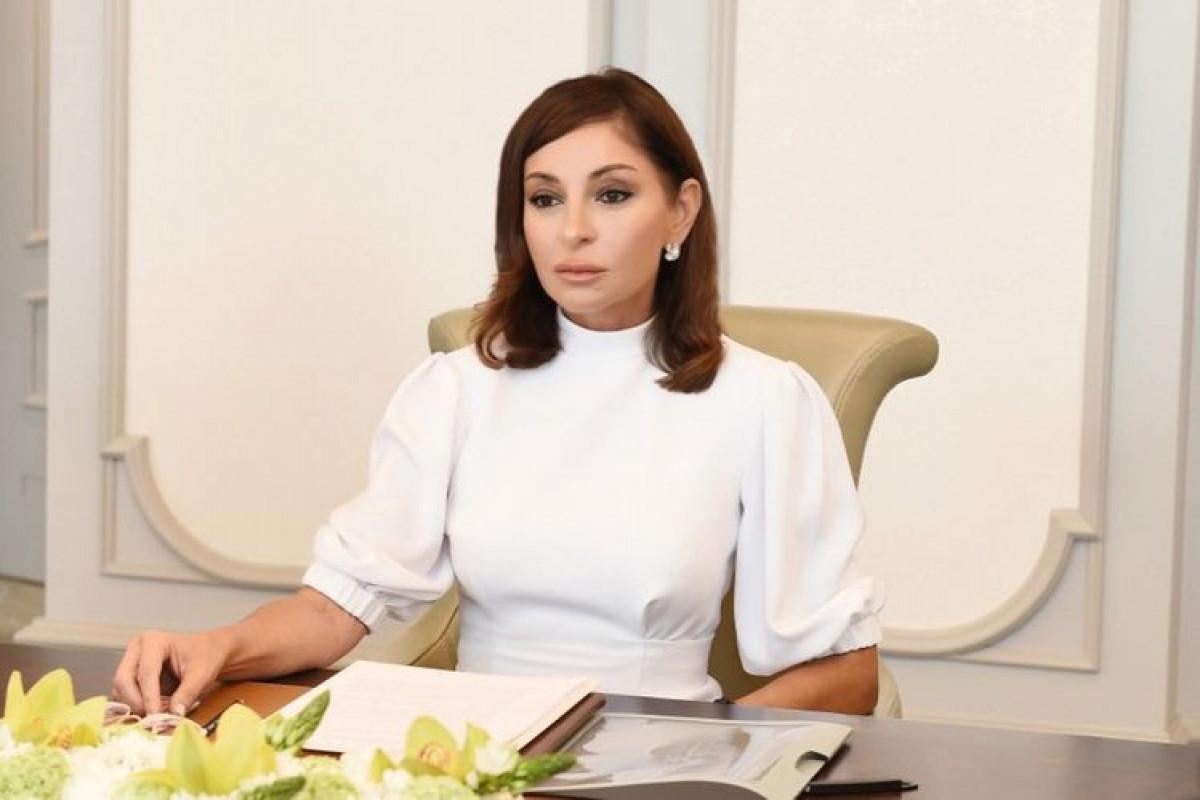 """Мехрибан Алиева поделилась публикацией в связи с Днем памяти-<span class=""""red_color"""">ФОТО"""