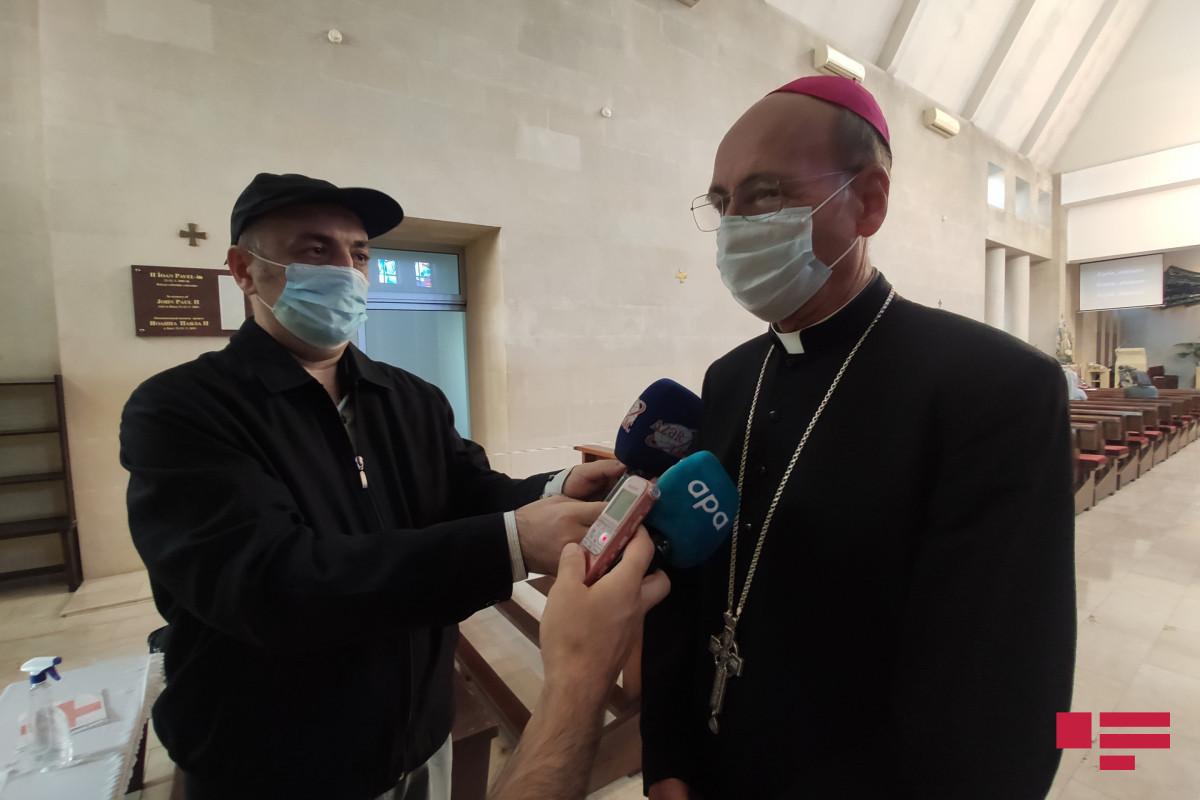 "Bishop Vladimir Fekete: ""May Allah help us for settlement of liberated territories soon"""