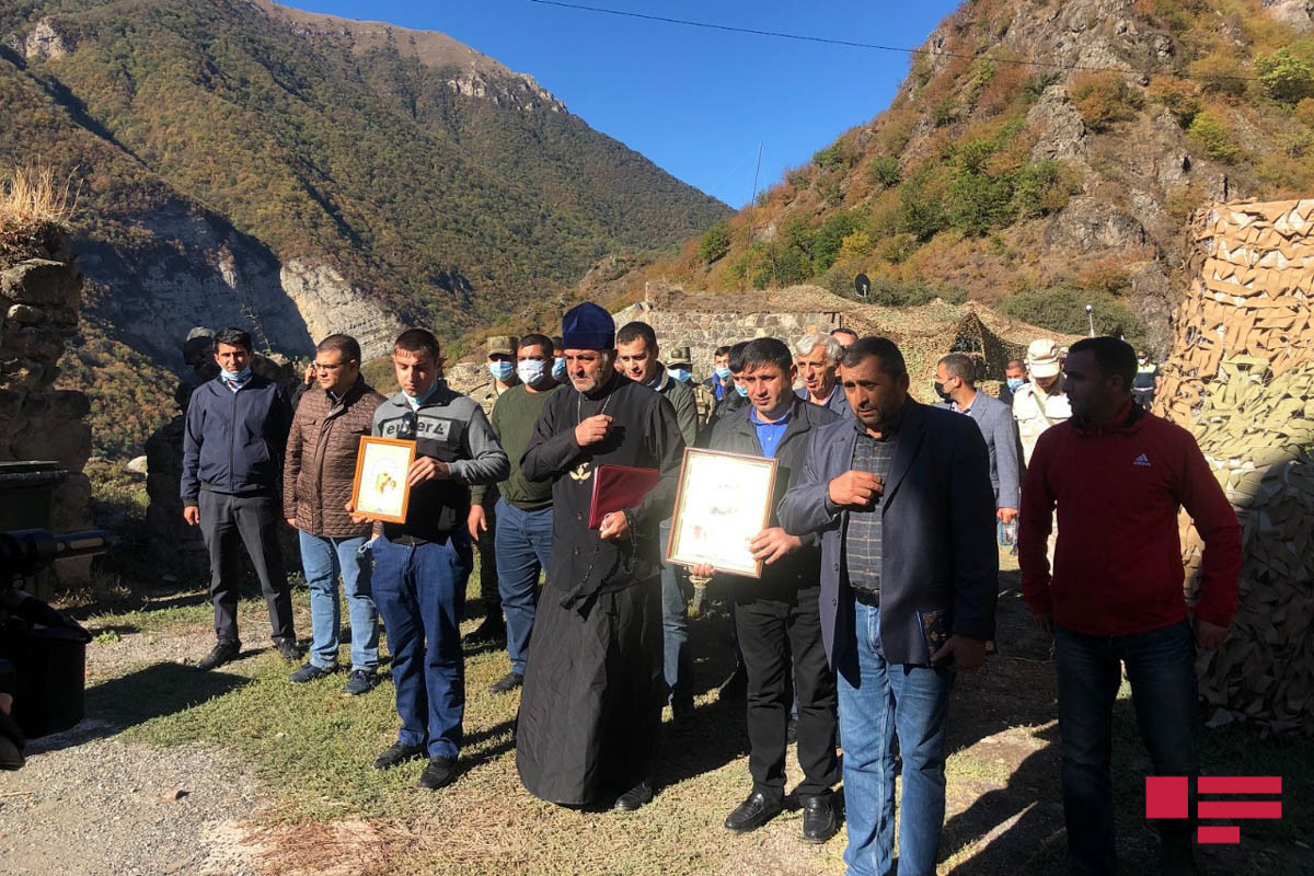 Prayers sounded  in memory of martyrs at the Khudavang Temple on the Day of Remembrance